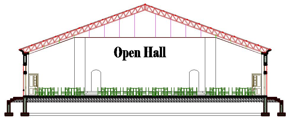 Member Design Of A 22m Span Steel Roof Truss Structville
