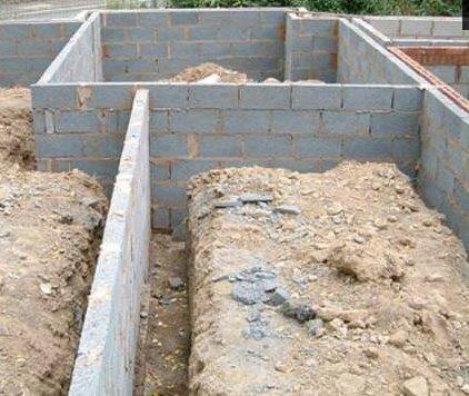 depth of foundation strip