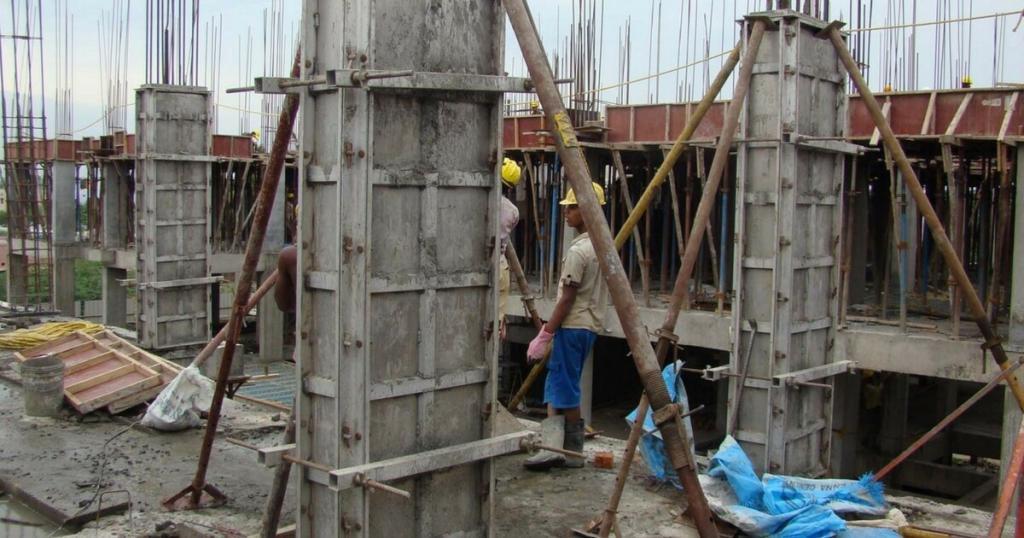 Steel column formwork